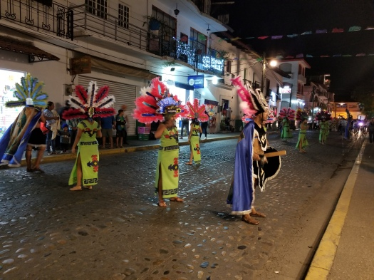 Parade for the Virgen de Guadalupe