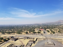 View from Pyramid of the Sun